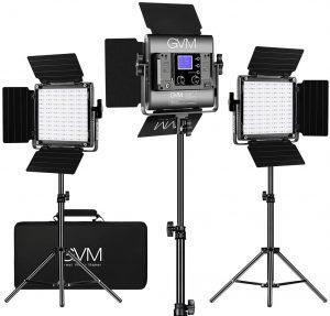 GVM RGB LED Video Light