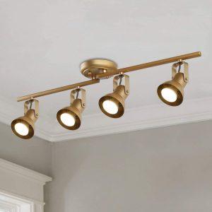 KSANA Gold LED Track Lighting