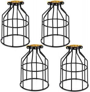 Kohree Metal Bulb Guard Lamp Cage, for Pendant Light