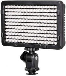 Led On Camera Video Light PT-176S 176 LED Bulbs
