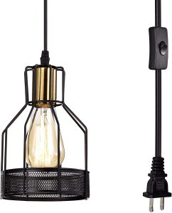 Plug-in Pendant Light