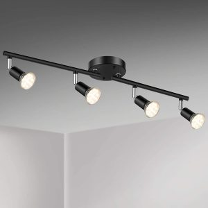 Unicozin LED 4 Light Track Lighting Kit
