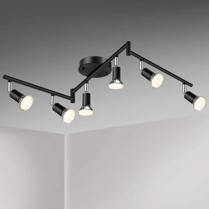Unicozin LED 6 Light Track Lighting Kit