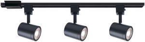WAC Lighting H-8010/3-30-BK Charge Pack LED Track Kit