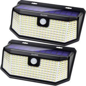 AOOTEK solar powered motion security light