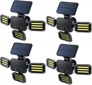 BIONIC solar powered motion security light