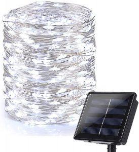 Brizled Solar String Lights