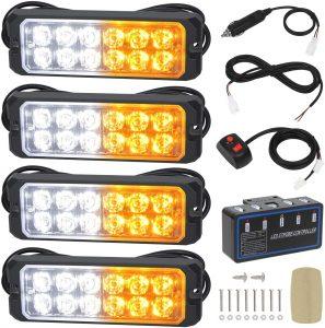 LINKITOM amber LED lights