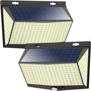 NACINIC solar powered motion security light