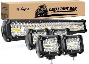 Nilight 20 Inch 126w LED Work Light Bar