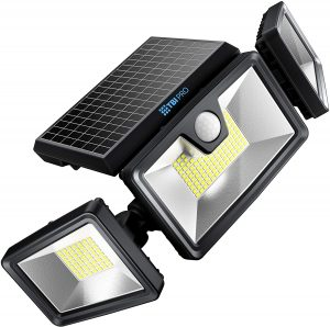 TBI PRO STORE solar powered motion security light