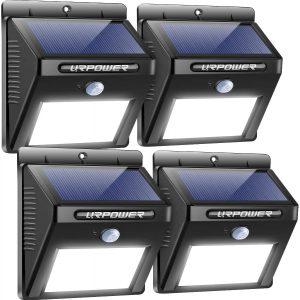 URPOWER Outdoor Motion Sensor Lights